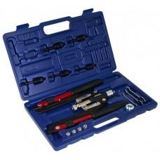 Nitovacie kliešte pákové, na trhacie nity 2.4 - 6.4 mm a nitovacie matice M4 - M10