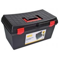 Plastový kufor na náradie 530 x 290 x 270 mm, nosnosť 120 kg - MAGG PP158