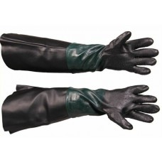 Rukavice ochranné pre pieskovanie, dĺžka 26 cm
